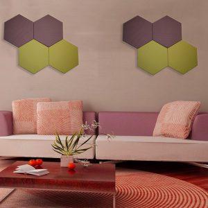 Акустическая панель с текстильным покрытием Beelive