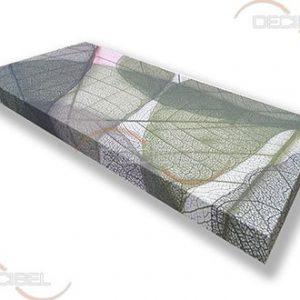 Акустическая панель с текстильным покрытием с заказным принтом